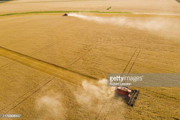 farm machinery - manitoba stock pictures, royalty-free photos & images