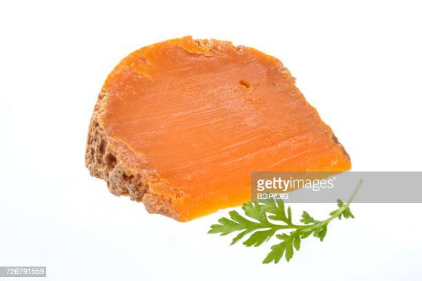 Farm mimolette cheese