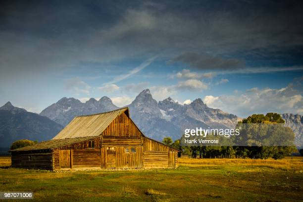 farm mormon row - hank vermote stock pictures, royalty-free photos & images