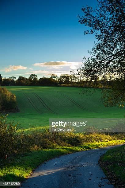 Farm Road in Fimber, England
