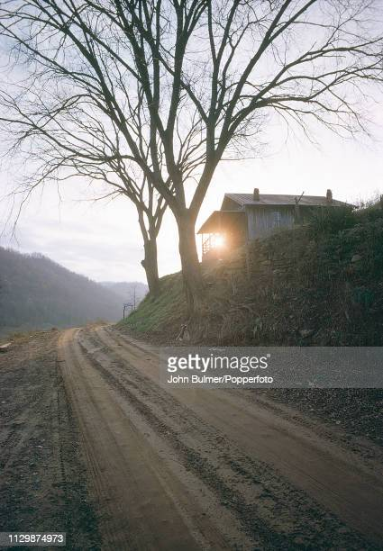 A farm road Pike County Kentucky US 1967