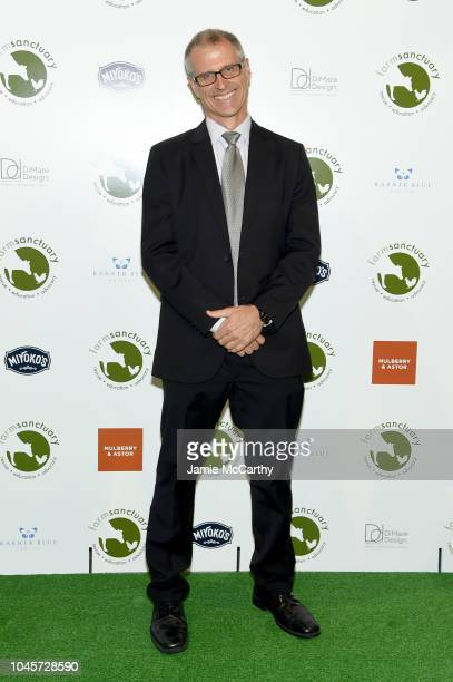 Farm Sanctuary President Gene Baur attends the 2018 Farm Sanctuary on the Hudson gala at Pier 60 on October 4 2018 in New York City