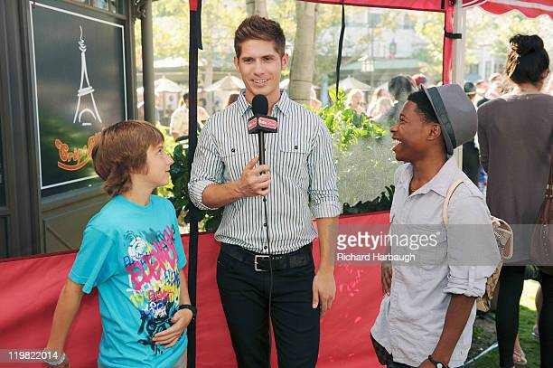 T FarmÓ stars China Anne McClain Sierra McCormick Jake Short Stefanie Scott and Carlon Jeffery chat with Radio Disney onair personality Jake Whetter...