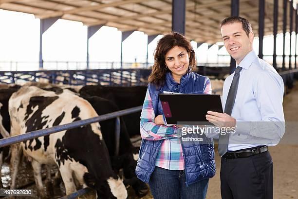 Farmer and Financial Advisor