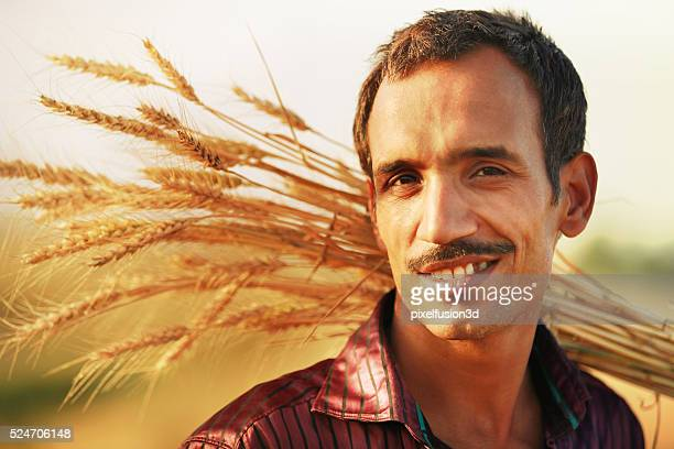 Farmer And Wheat