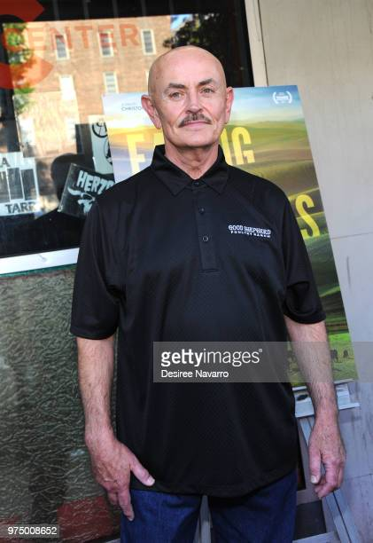 Farmer Frank Reese attends 'Eating Animals' New York Screening at IFC Center on June 14 2018 in New York City