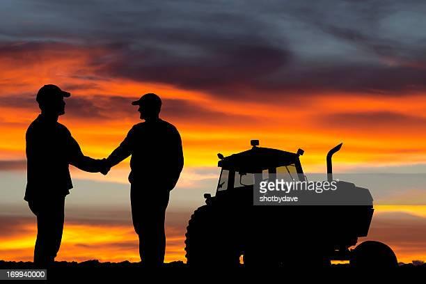 Farmer Handshake