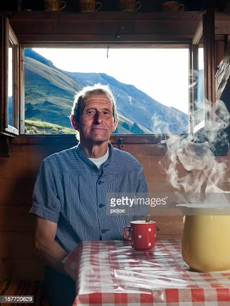 farmer, Kaffeepause