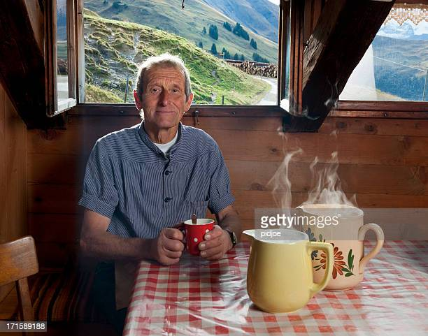 farmer, Kaffeepause