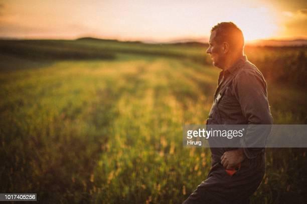 Farmer en campo