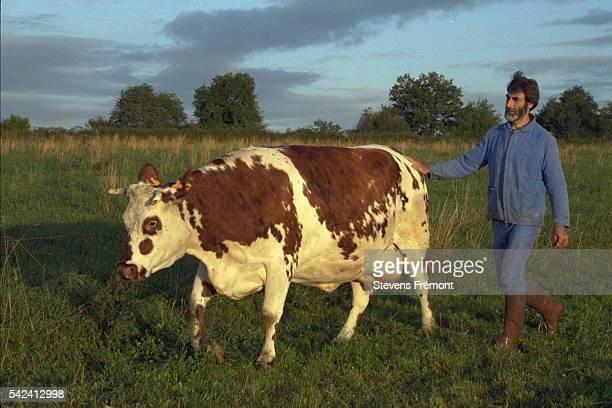 Farmer JeanPierre Lambert whose principal activity is organic milk production