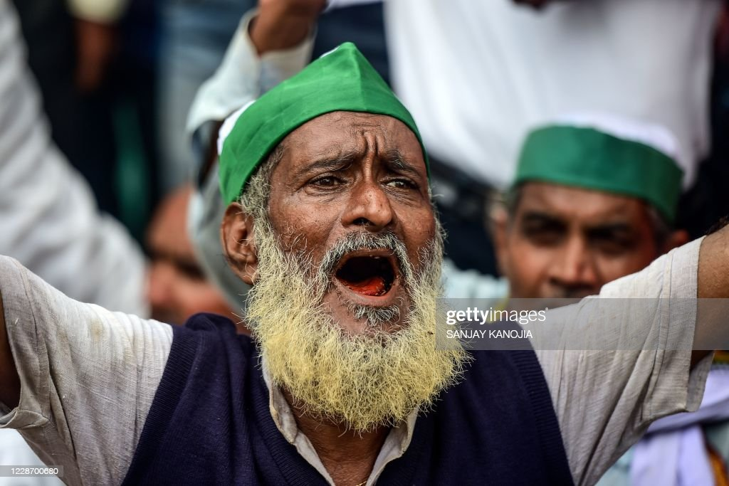 INDIA-POLITICS-AGRICULTURE-PROTEST : News Photo