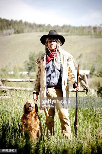 farmer with rifle - montana western usa stock pictures, royalty-free photos & images