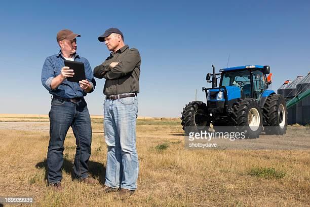 Agriculteurs et de la technologie