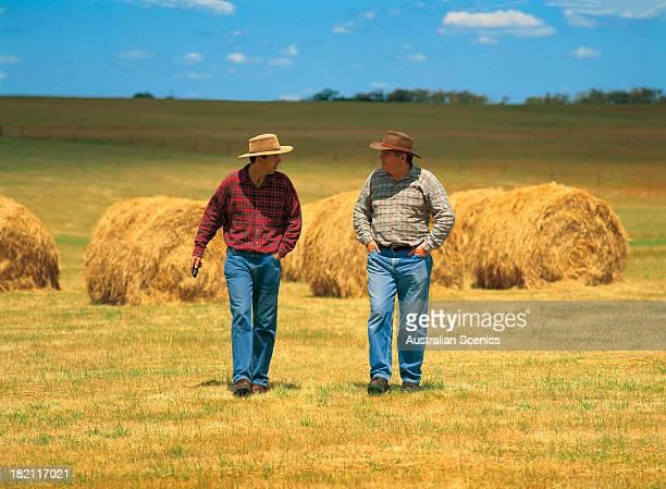 Farmers at Beaufort, Victoria, Australia