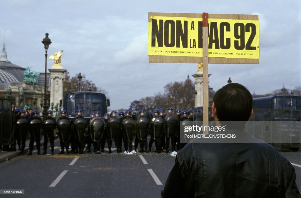 Farmers Demonstration Against Gatt Agreement Pictures Getty Images