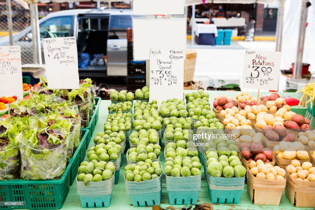 Farmers Market Fresh Produce High Res Stock Photo Getty Images