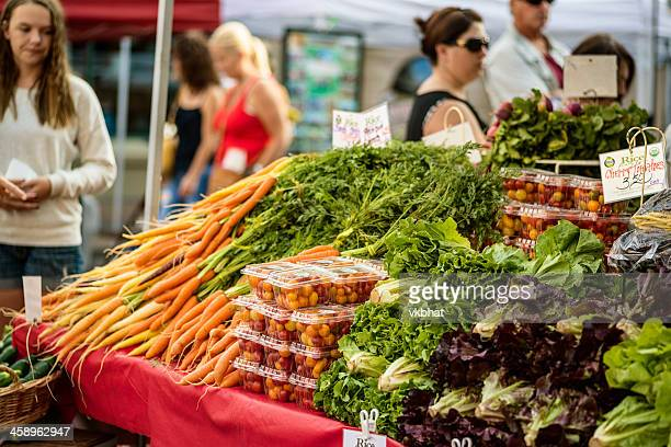 farmers market in boise, idaho  downtown - boise idaho stock pictures, royalty-free photos & images