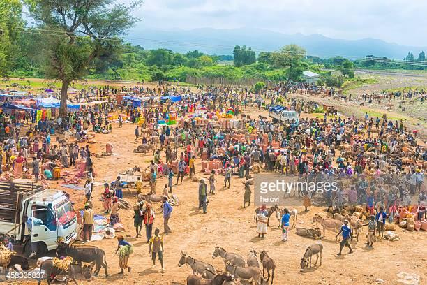 Mercado de Produtos Agrícolas na Etiópia