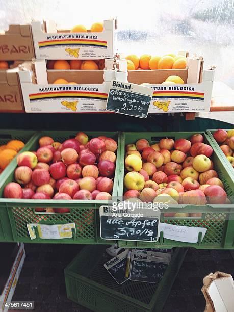 Farmers' market near Munich