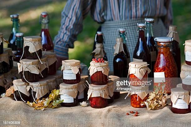 farmer's market (sweden) - glasburk bildbanksfoton och bilder