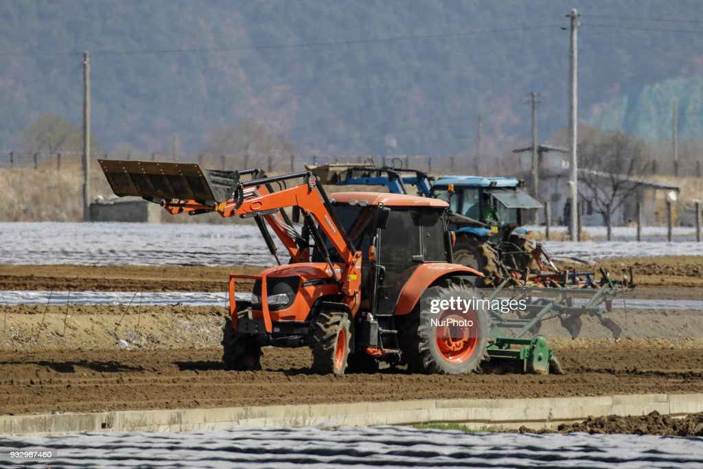 South Korea Spring Farming Season