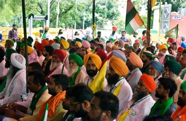 IND: Farmers At Jantar Mantar To Protest Against Farm Laws