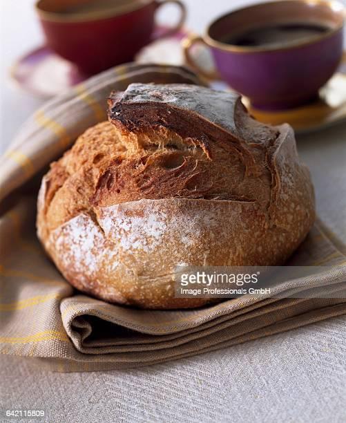 Farmhouse loaf of bread