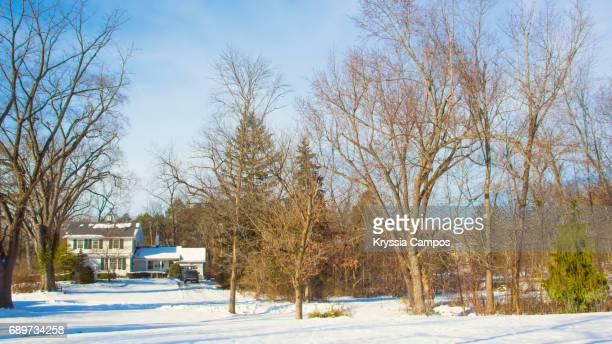 Farmhouse Scenics in Winter