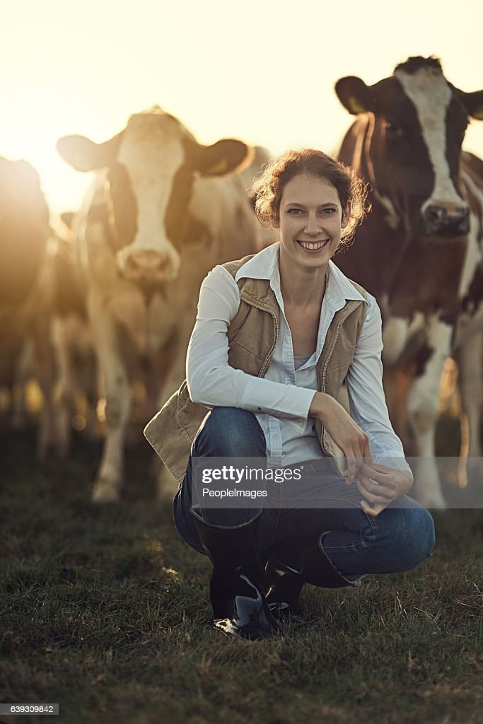 Farming is more than a job, its a lifestyle : Stock Photo