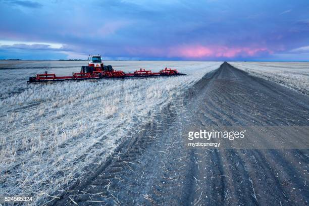 プレーリー サスカチュワン カナダの農業