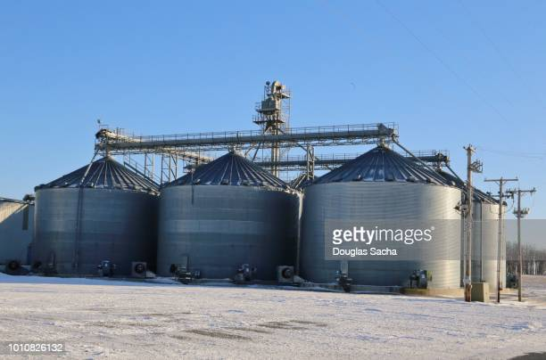 Farming silos for crop and agriculture storage