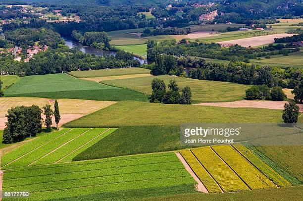 'Farmland in Dordogne Valley, France'