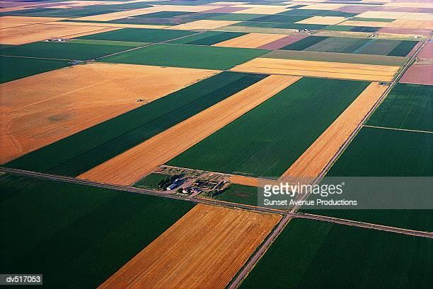 farmland, kansas, usa - kansas imagens e fotografias de stock