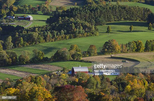 Farms,Peacham, Vermont