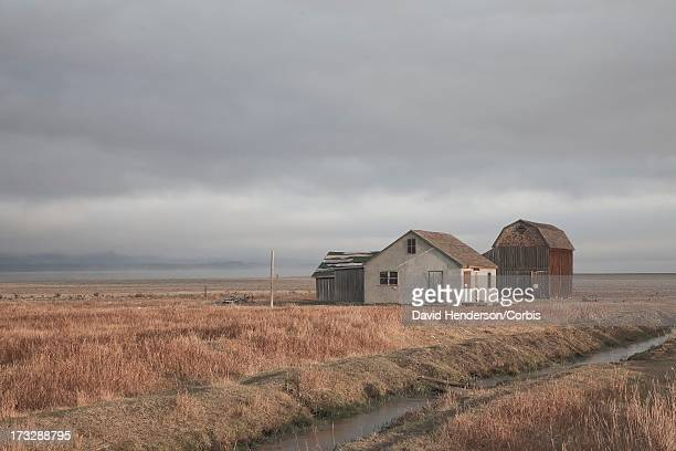 farmstead and barn, wyoming, usa - en:public_domain stock pictures, royalty-free photos & images