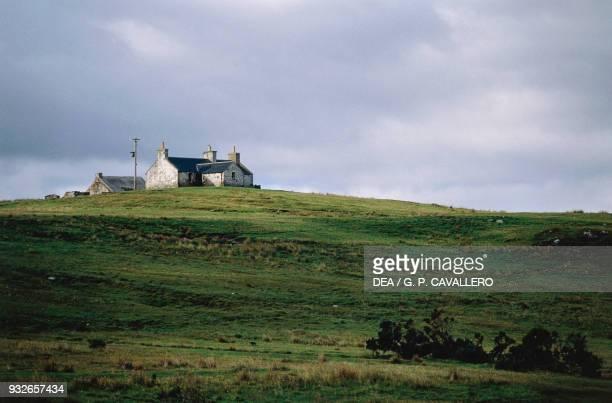 Farmstead on Isle of Islay, Hebrides, Scotland, United Kingdom.