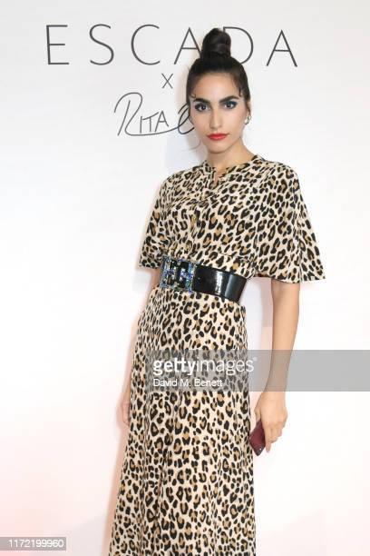 Farnoush Hamidian attends the ESCADA x RITA ORA capsule launch event during Paris Fashion Week on September 29 2019 in Paris France