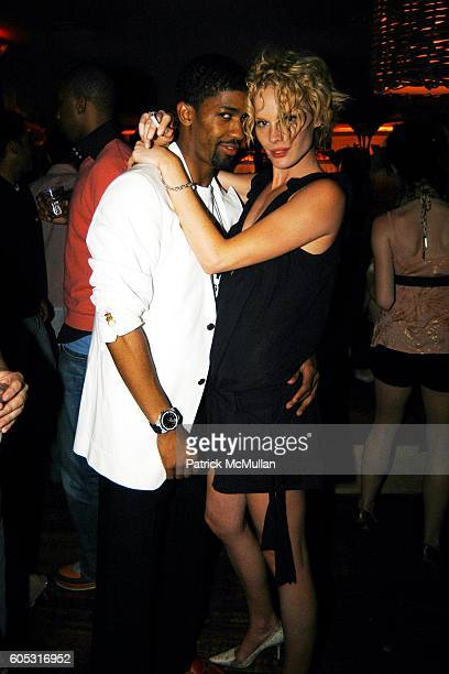 Farnsworth Bentley and Katie Nuala attend DJ Cassidy and Fonzworth Bentley Host BUNNY CHOW Sunday at CAIN Southampton Club on May 28 2006 in...