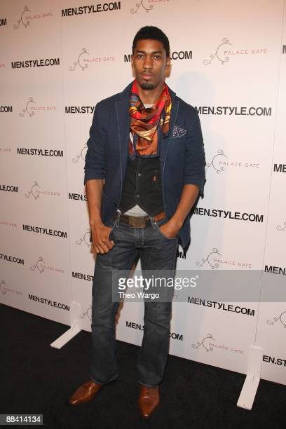 Farnsworth Bentley attends MenStyleCom's 3rd Annual Women of Fashion at The New York Palace Hotel on June 10 2009 in New York City