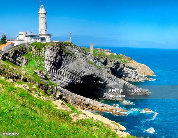 Faro Cabo Mayor and cliffs