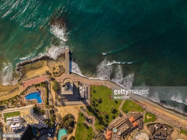 Faro de Maspalomas, Gran Canaria, Spanien.