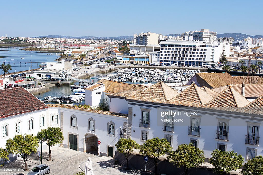 Faro downtown, Portugal : Stock Photo