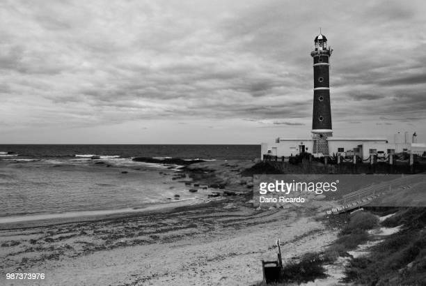 faro jose ignacio - jose ignacio lighthouse stock photos and pictures