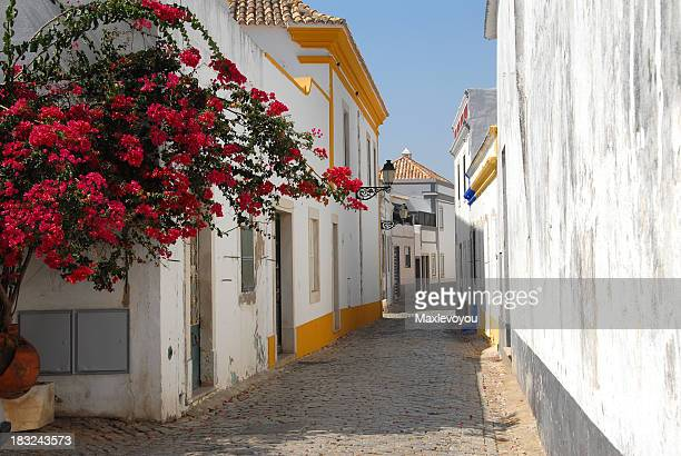 faro old town - faro stock photos and pictures