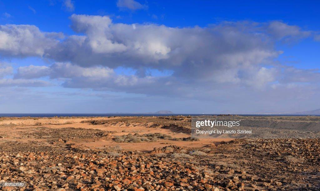Faro Park in Lanzarote : Stock Photo