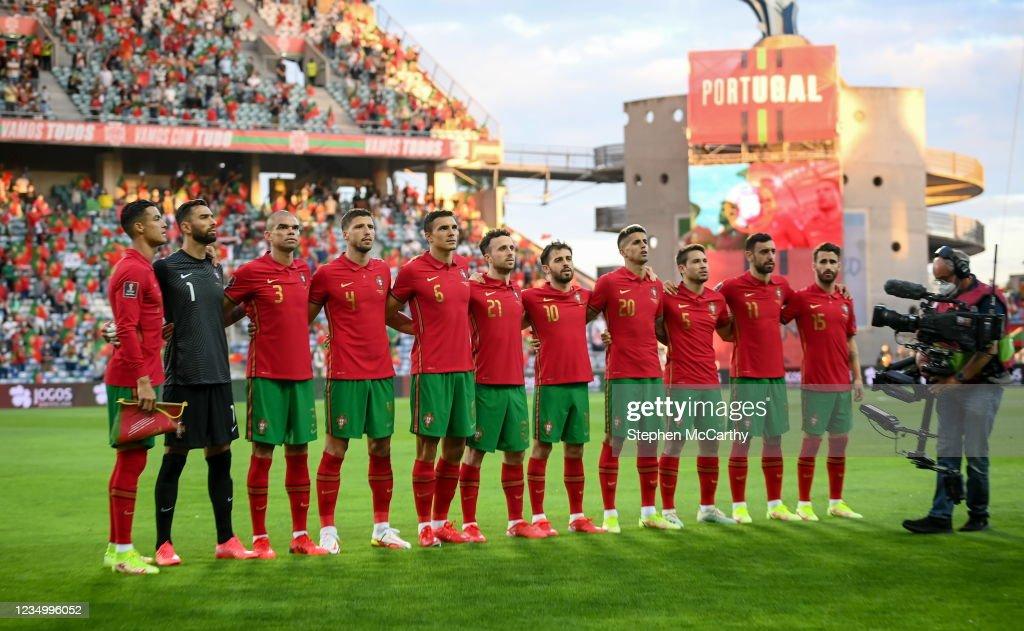 Portugal v Republic of Ireland - FIFA World Cup 2022 Qualifier : Photo d'actualité