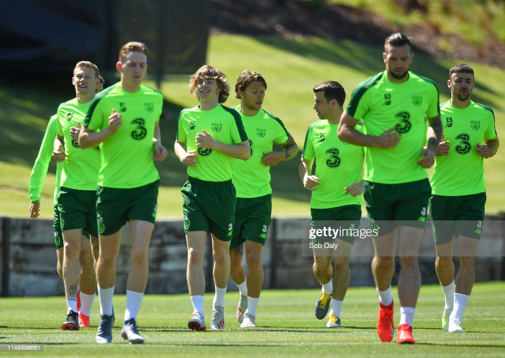 PRT: Republic of Ireland Press Conference & Training Session