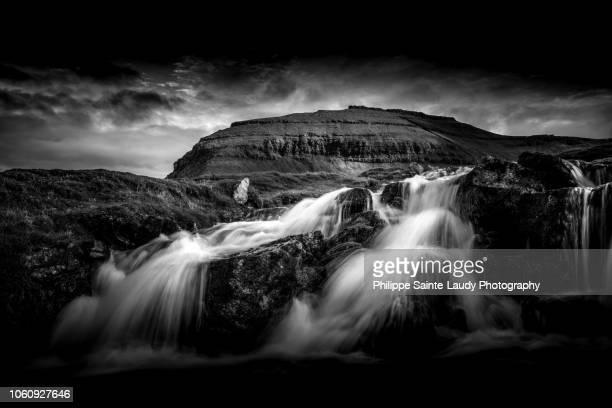 Faroes Waterfall