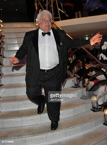 Farokh Engineer attends annual event raising money for Action On Addiction at Quaglino's on May 14 2009 in London England